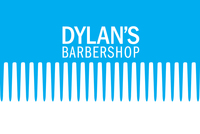 Trendy Barber Shop logo Template