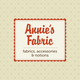 Fabric Shop Logo Template