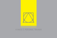 Personal Trainer logo Template