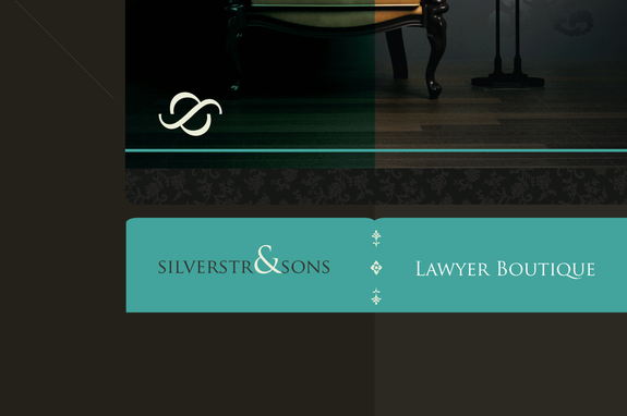 Classy Law Firm Logo Template | Inkd