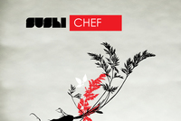 Sushi Chef Logo Template