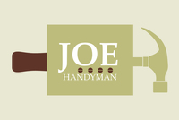 Joe Handyman Maintenance Logo Template