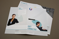 Telecommunications Brochure Template
