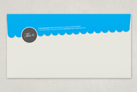 Retro Classic Envelope Template