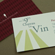 Classic Winery or Vineyard Business Card Template