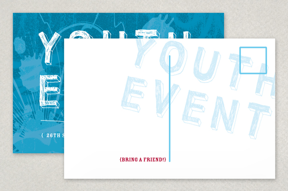 Youth Event Postcard Template Inkd - Event postcard template