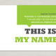 Small Business Business Card Template
