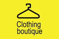 Clothing Boutique Retail Logo Template