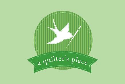 quilt shop logo template inkd. Black Bedroom Furniture Sets. Home Design Ideas