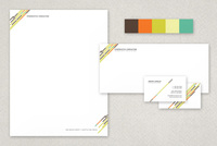 Mystery Machine Modern Stationery Templates