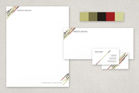 Pontiac Modern Stationery Templates Template