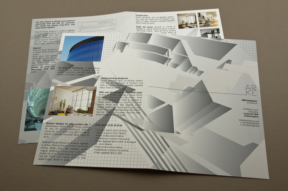 Architecture Firm Brochure Template Inkd