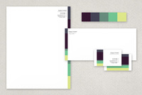 Beautiful Scenery Business Stationery Templates