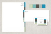 Central Business Stationery Templates