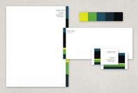 Steaming Business Stationery Templates