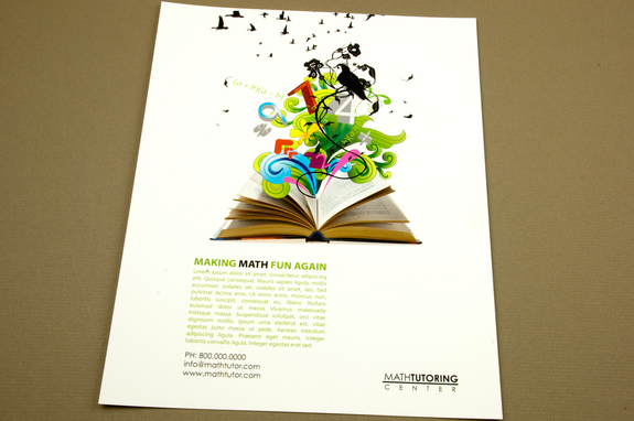 tutoring center flyer template