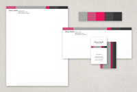Good Friends Classic Stationery Templates Template