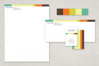 Mystery Machine Classic Stationery Templates