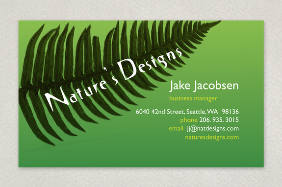 Natures designs landscaping business card template inkd natures designs landscaping business card template flashek