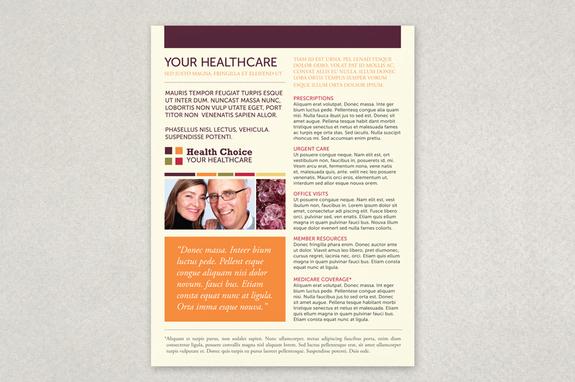 Healthcare Flyer Template Inkd