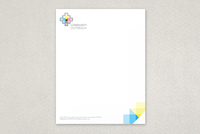 Community Outreach Letterhead Template