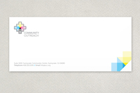 Community Outreach Envelope Template