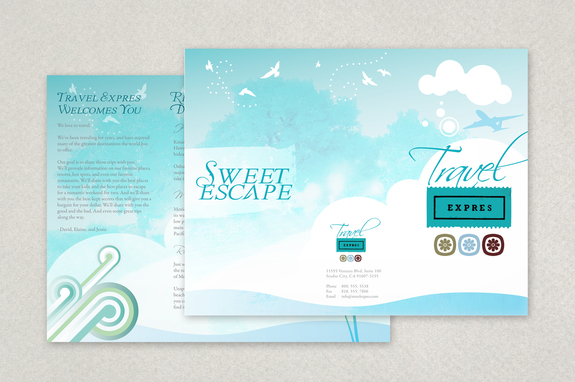 Travel And Tourism Brochure Template  Inkd