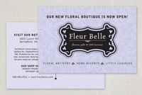 Floral & Gift Boutique Postcard Template