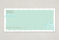 Modern Market Antique Shop Envelope Template