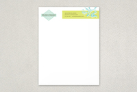 Modern Market Antique Shop Letterhead Template