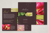 Elegant Flower Shop Brohure Template