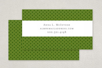 Simple Dotted Business Card Template