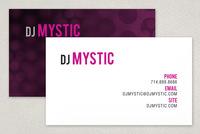 DJ/Entertainment Business Card Template