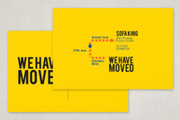 We Have Moved Postcard Template