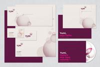 Yumi Free Branding Kit Template