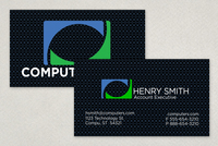 Computers & Technology Business Card Template