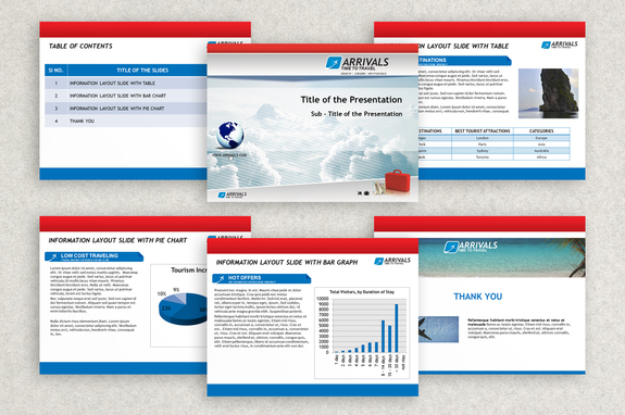 Airline Travel Powerpoint Presentation Template Inkd