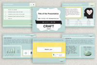 Craft Fair PowerPoint Presentation Template