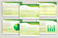 Eco Green PowerPoint Presentation Template