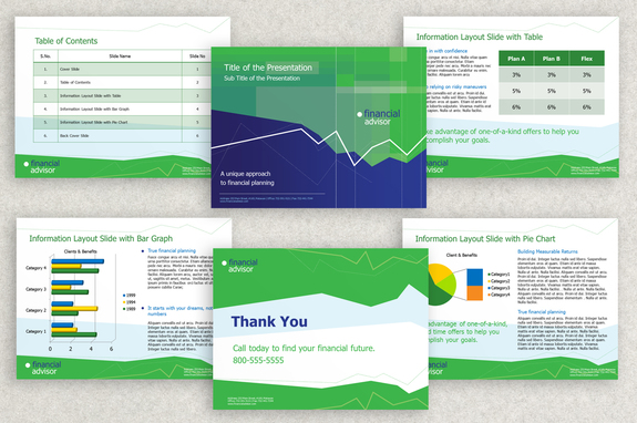 Financial Investment Powerpoint Presentation Template Inkd