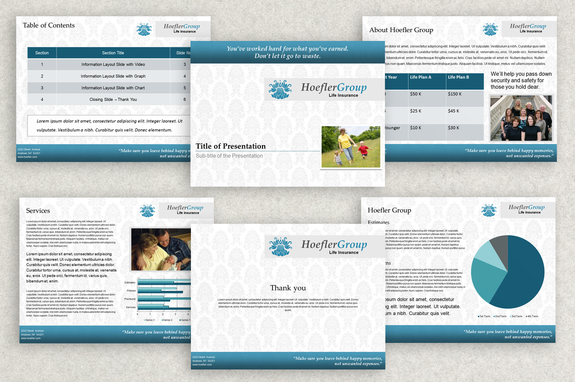life insurance powerpoint templates  Life Insurance PowerPoint Presentation Template | Inkd