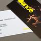 Dance Company Business Card  Template