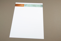 Architecture Firm Letterhead with Blue Texture Template