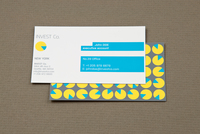 Investment Company Business Card Template