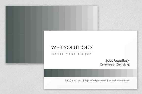 Web solutions consulting business card template inkd web solutions consulting business card template colourmoves Images