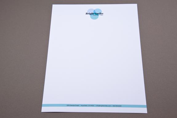 Family Dentist Letterhead Template | Inkd