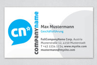 Social Media & Marketing Business Card Template