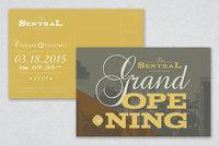 Classic Bistro Event Invitation Postcard Template