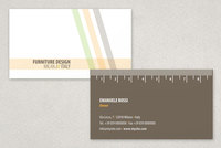 Modern Furniture Design Business Card Template