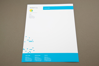 Investment Company Letterhead Template